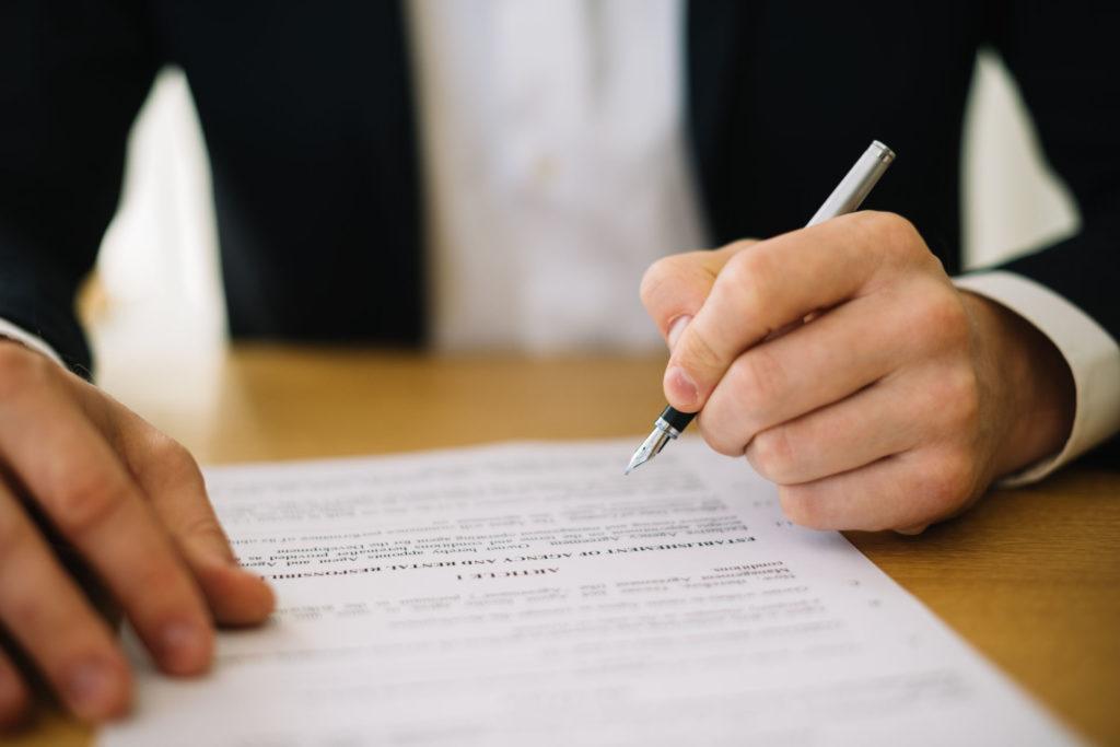 Contratto di domiciliazione legale