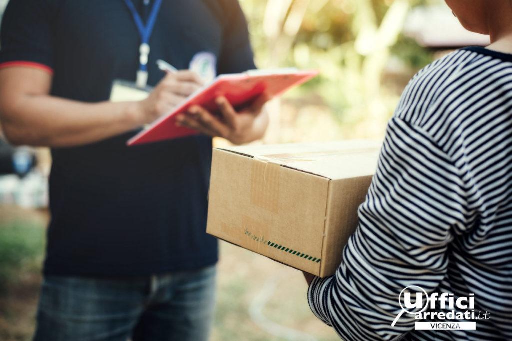 Ricezione pacchi, plichi e corrispondenza a Vicenza