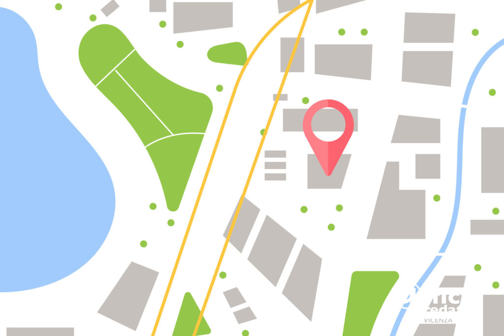 Place Google Maps a Vicenza